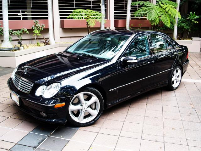 Autoland 2005 Mercedes C230 Kompressor Sport Hid Leather