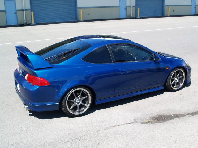 Autoland ACURA RSX TYPE S LEATHER JDM KIT RIMS DROP EXHAUST - 2006 acura rsx type s wheels