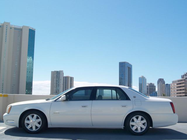 Autoland 2004 Cadillac Dts Pearl White Luxury Chrome