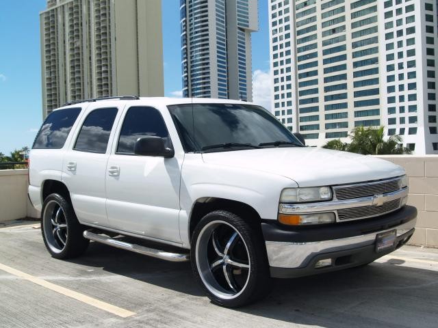 """Chevy Tahoe Rims And Tires Autoland :: 2004 CHEVY TAHOE LS 24"""" RIMS DVD ALARM TINTED"""