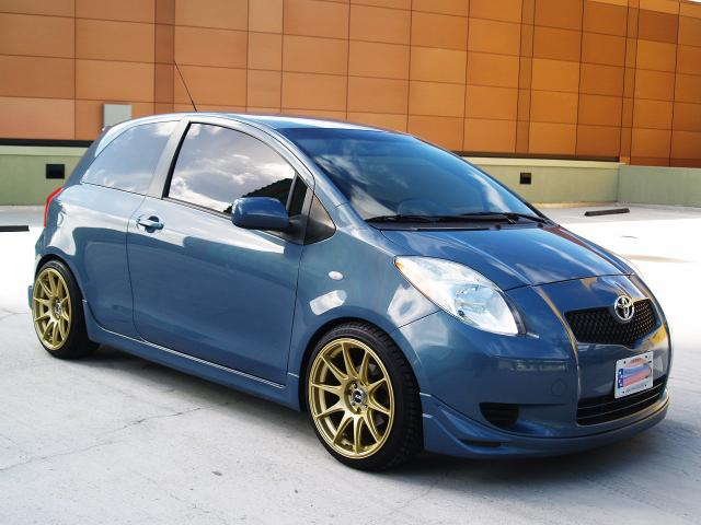 autoland 2008 toyota yaris sport auto all pwr drop rims. Black Bedroom Furniture Sets. Home Design Ideas