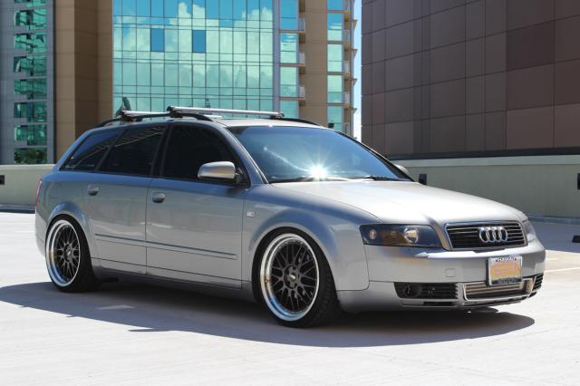 Turbo Title Loan >> Autoland :: 2003 AUDI A4 WAGON TURBO RIMS COILOVER BLK LEATHER