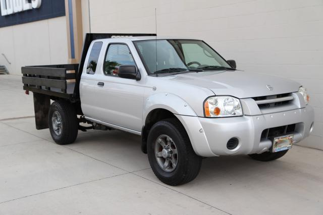 Autoland :: 2004 NISSAN FRONTIER CUSTOMS FLATBED 5SPD A/C  |Nissan Frontier Flat Bed