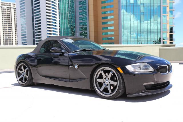 Autoland 2007 Bmw Z4 3 0i Drop 19 Quot Rims 6spd Blk On Bl