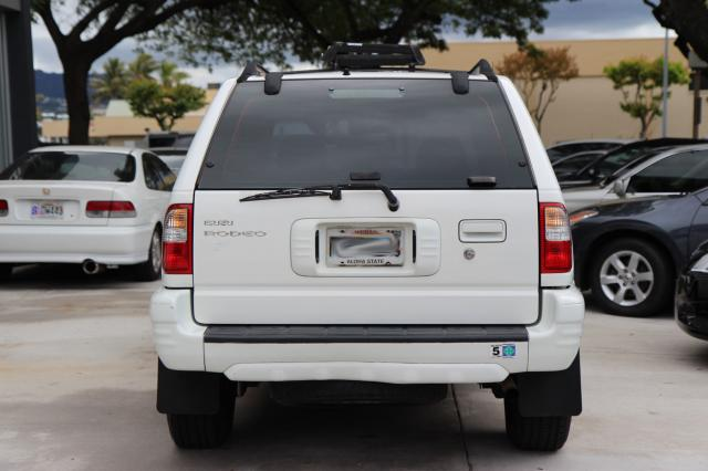 autoland 2002 isuzu rodeo ls 4x4 miles rack auto a c. Black Bedroom Furniture Sets. Home Design Ideas