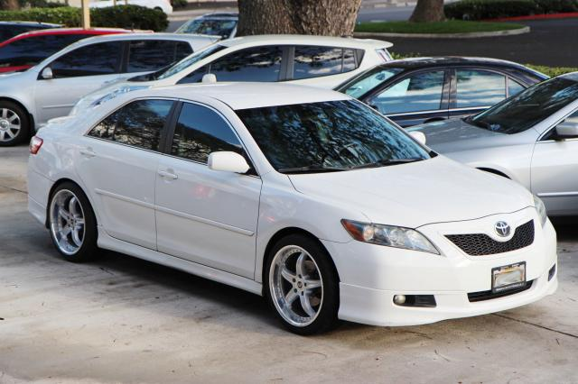 2008 TOYOTA CAMRY SE BODY KIT RIMS 5SPD A/C ALL PW
