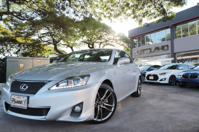 2012 LEXUS IS250 F SPORT AUTO SUEDE LEATHER