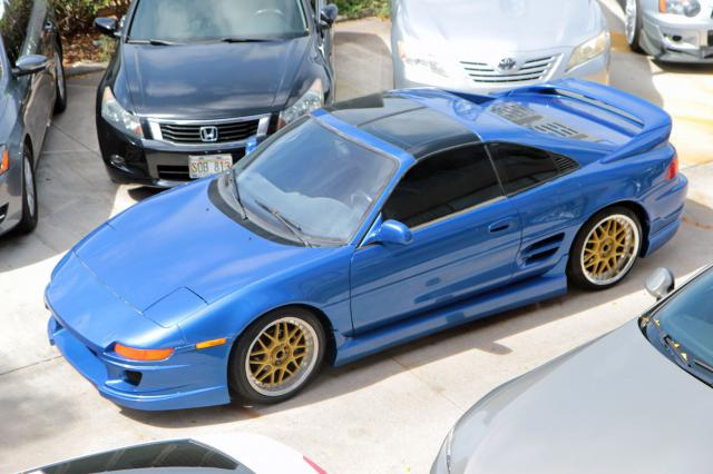 Autoland Toyota Mr2 Sw20 Turbo T Top Exhaust Body Kit 5spd