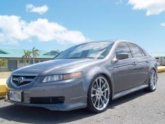 "Autoland :: 2005 Acura TL type S body kit, 20"" rims DVD l"