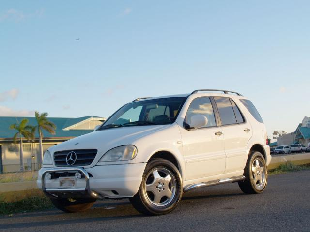 Autoland 2000 mercedes benz ml320 leather sunroof board for 2000 mercedes benz ml 320