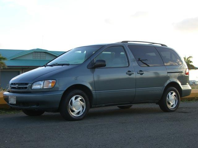Autoland 1998 Toyota Sienna Xle Leather Low Miles