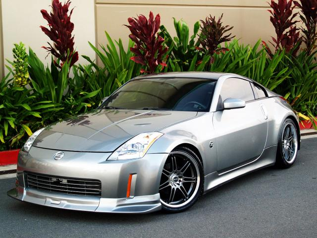 autoland 2003 nissan 350z performance pck full lip kit 6sp. Black Bedroom Furniture Sets. Home Design Ideas