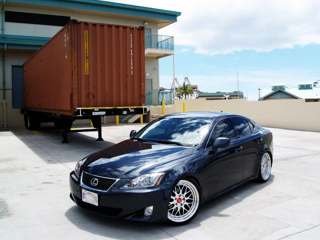 Autoland 2007 Lexus Is250 Navi Blk Leather Rims Drop